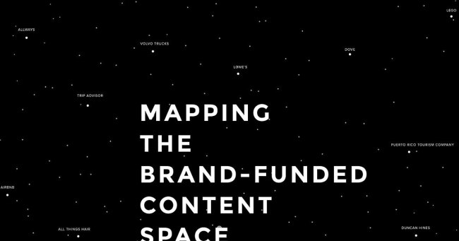 Mapping the brand-funded content space
