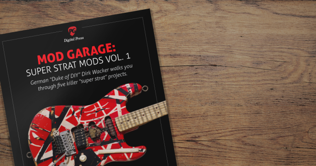 Digital Press - Mod Garage: Super Strat Mods Vol. 1