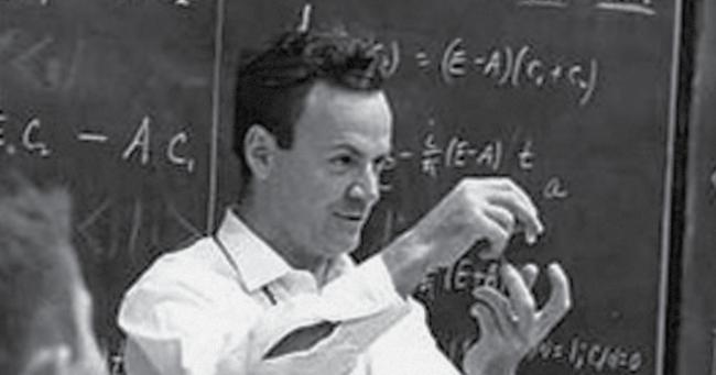 Richard Feymman; slavni fizik in razvpiti ekscentrik