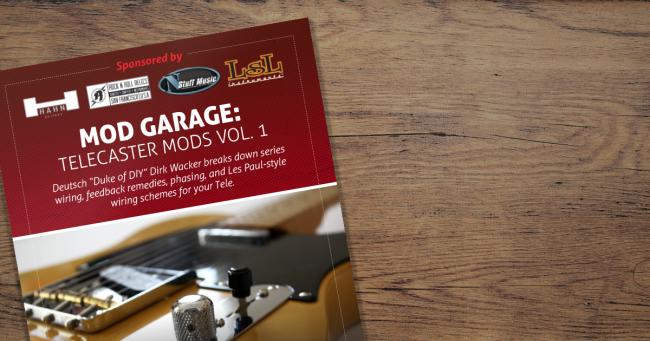 Digital Press - Mod Garage: Telecaster Mods Vol. 1