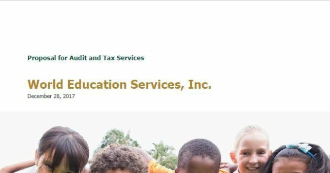 World Education Services, Inc. 2018