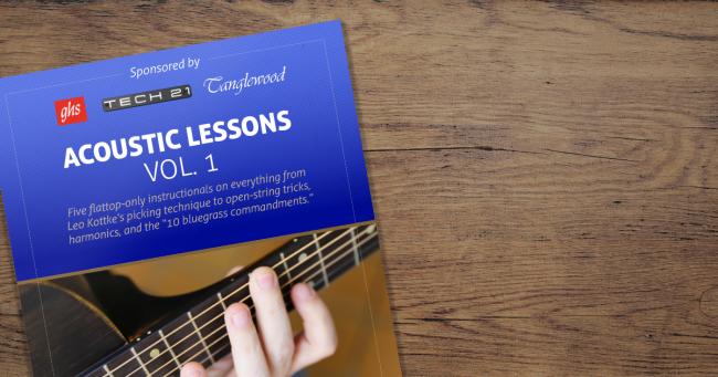 Digital Edition - Acoustic Lessons Vol 1.