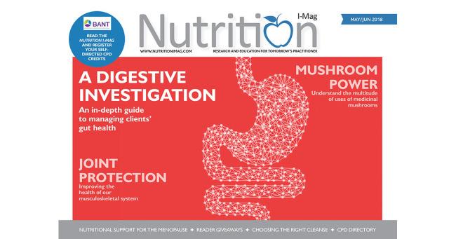 Nutrition I-Mag May/June 2018