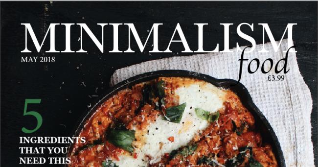 Minimalism Food