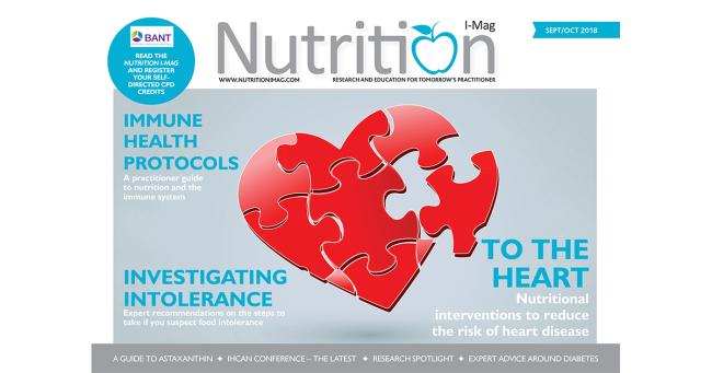 Nutrition I-Mag September/October 2018