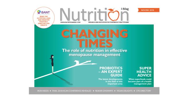 Nutrition I-Mag November/December 2018