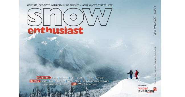 Snow Enthusiast 2018 - ISSUE 1
