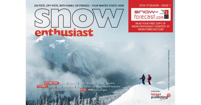 Snow Forecast - Snow Enthusiast 2018 - ISSUE 1