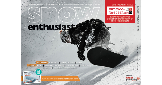 Snow-Forecast - Snow Enthusiast December 2018 - ISSUE 2