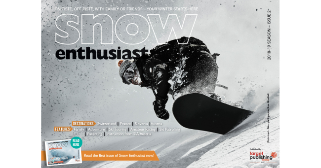 Snow Enthusiast December 2018 - ISSUE 2