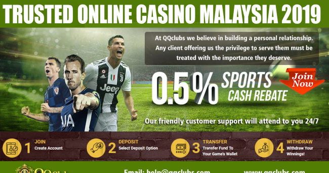 Trusted Online Casino Malaysia 2019