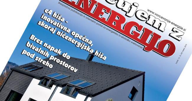 Revija Varčujem z energijo, št. 64, marec 2019