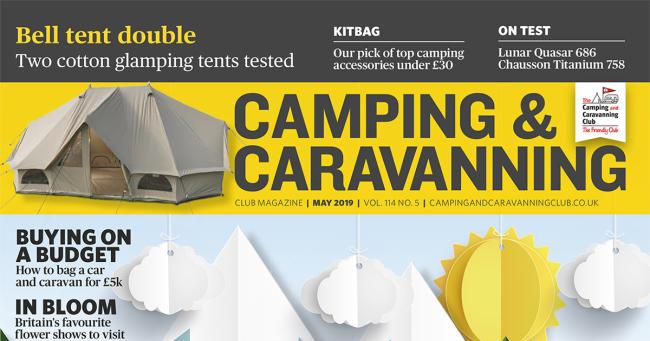 Camping & Caravan Club May 2019