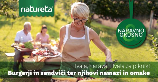 Naravno & Okusno: Hvala, narava! Hvala za piknik!