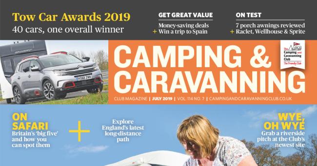 Camping & Caravan Club July 2019