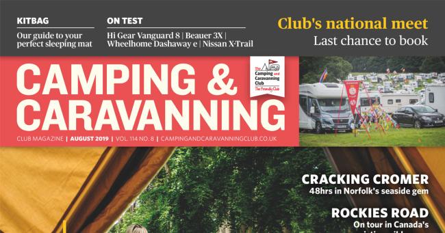 Camping & Caravan Club August 2019