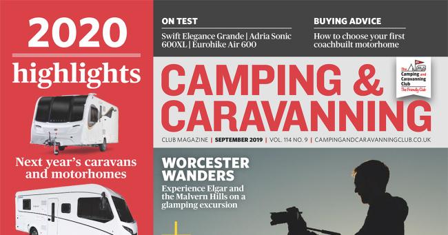 Camping & Caravan Club September 2019