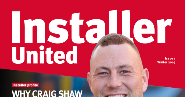 Glow Worm Installer United Issue One