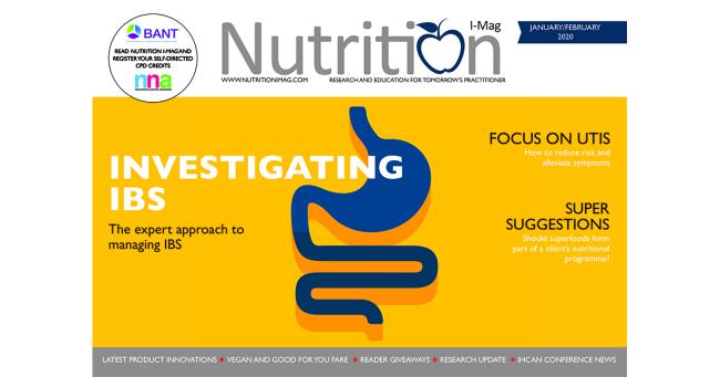 Nutrition I-Mag January/February 2020