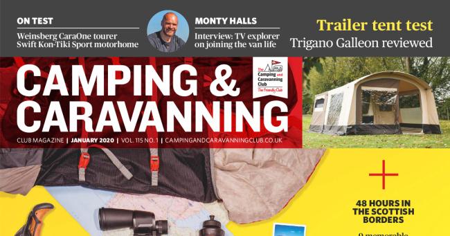 Camping & Caravan Club January 2020