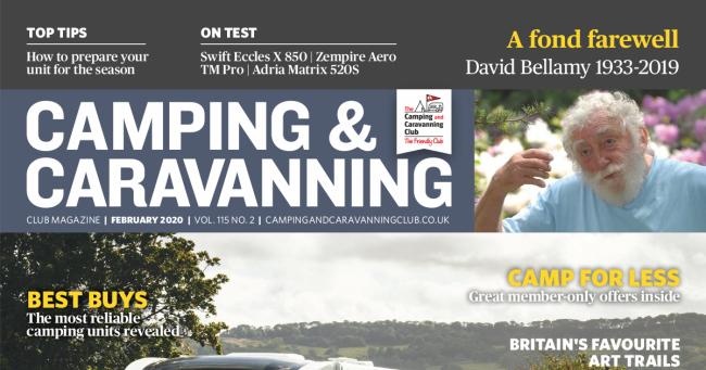 Camping & Caravan Club February 2020