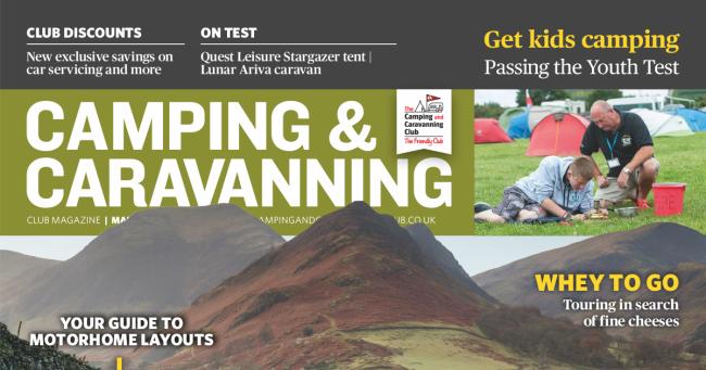 Camping & Caravan Club March 2020