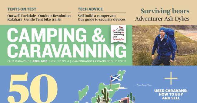 Camping & Caravan Club April 2020