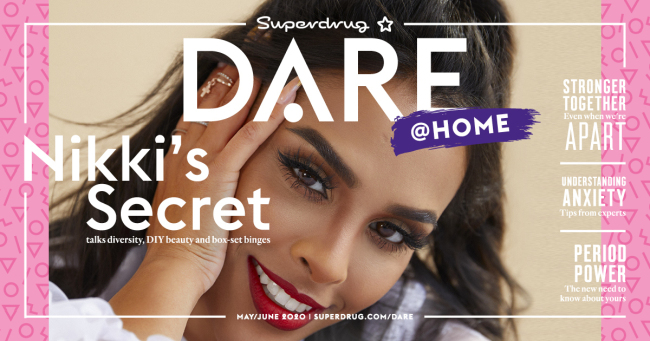 Superdrug DARE Magazine May/June 2020