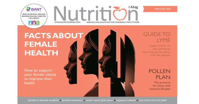 Nutrition I-Mag May/June 2020