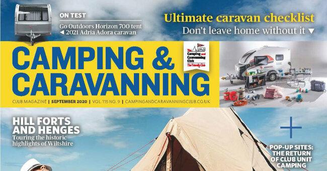 Camping & Caravan Club September 2020