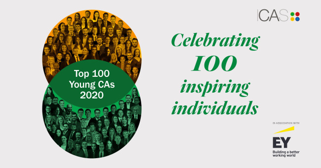 Top 100 Young CAs 2020 - Celebrating 100