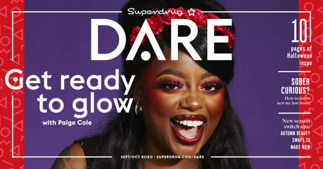 Superdrug DARE magazine Sep/Oct 2020