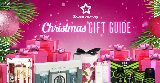 Superdrug Christmas Gift Guide