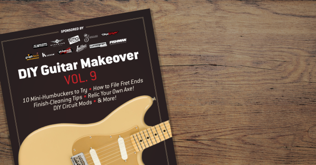 Digital Press - DIY Guitar Makeover Vol. 9