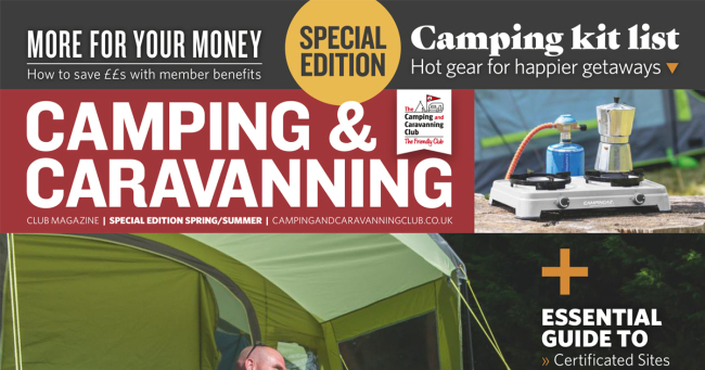 Camping Caravan Club May New to the Club Special
