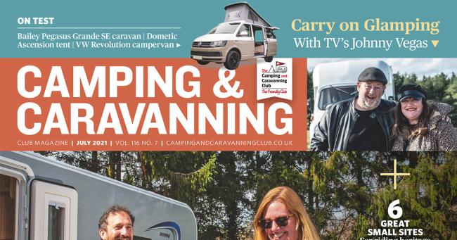 Camping Caravan Club July 2021