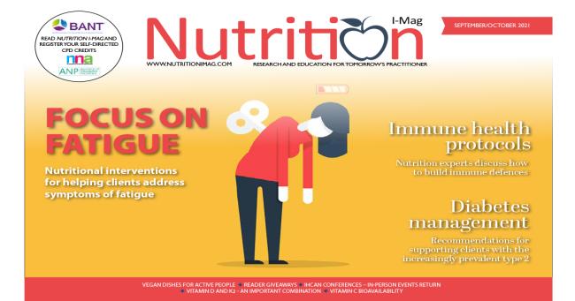 Nutrition I-Mag Sept/Oct 2021