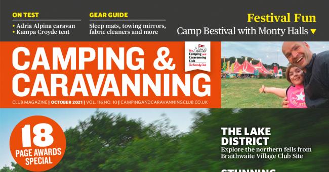 Camping Caravan Club October 2021